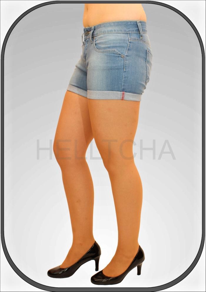 751a13d6156 Dámské jeansové světle modré kraťasy ADA 2