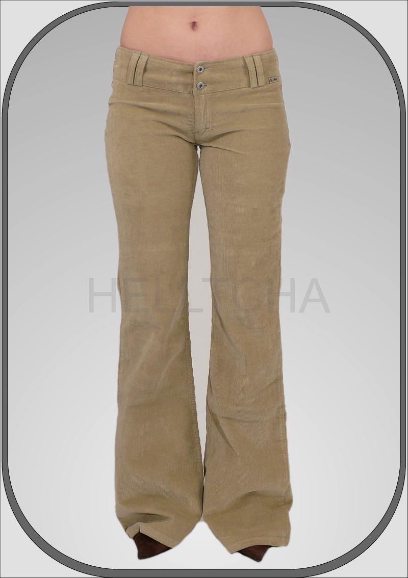 Dámské manšestrové kalhoty 5209 763ee009de