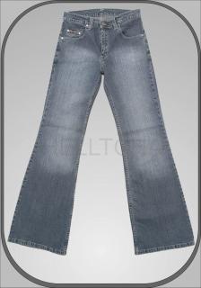 Bělené dámské jeansy 5196 68116cedd9